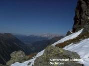 Klafferkessel Richtung Dachstein